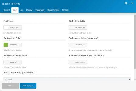 WebGatha Shortcode Button Color Setting