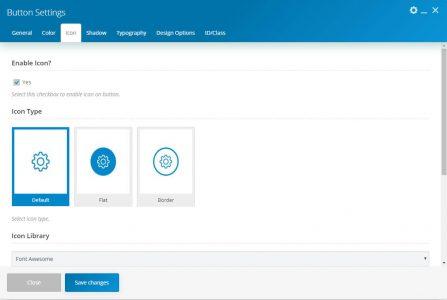 WebGatha Shortcode Button Icon Setting