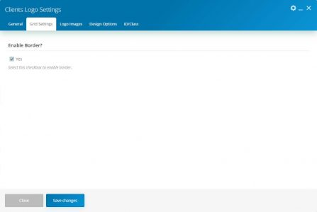 WebGatha Shortcode Clients Logo Grid Setting