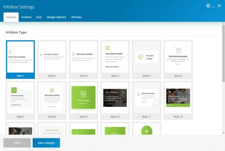 WebGatha Shortcode Infobox General Setting