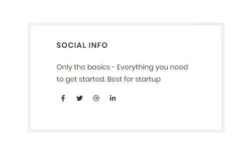 WebGatha Widget Social Icon Front