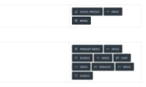 WebGatha Topbar Menu Header Builder
